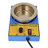 Soldadura en recipiente de soldadura, baño de desoldadura de soldadura resistente al calor resistente al desgaste, fácil de mantener para estañado de(US standard 110V)