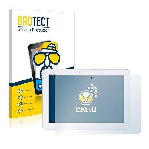 BROTECT 2X Entspiegelungs-Schutzfolie kompatibel mit Asus Transformer Pad TF103CG 3G Bildschirmschutz-Folie Matt, Anti-Reflex, Anti-Fingerprint