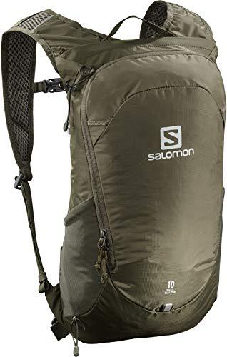 Salomon Trailblazer 10 L Multifunktions-Rucksack Mit 3D-Komfort Und Trinkblasen-Kompatibilität Für Wanderungen
