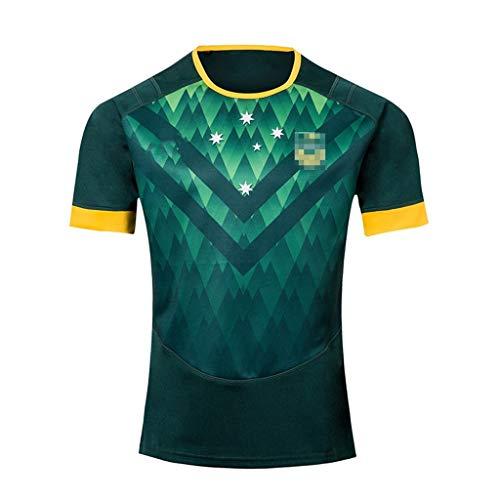 GXHLLYZY Australian Rugby Kleidung, Rugby Kleidung T-Shirt Kurzarm (Size : XXXL)