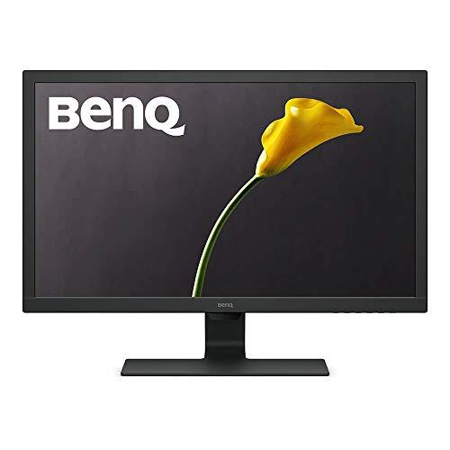 BenQ GL2780 Monitor da Gioco LED da 27 Pollici, FHD 1080p, Eye-Care, 1 ms, 75 Hz, Antiriflesso, HDMI, DVI, Speaker, Black