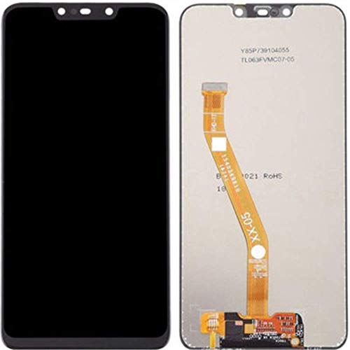 LCD display voor Huawei P Smart Plus (nova 3i) voor vervanging beeldscherm in complete set digitizer glas touchscreen reparatie zwart/gereedschap