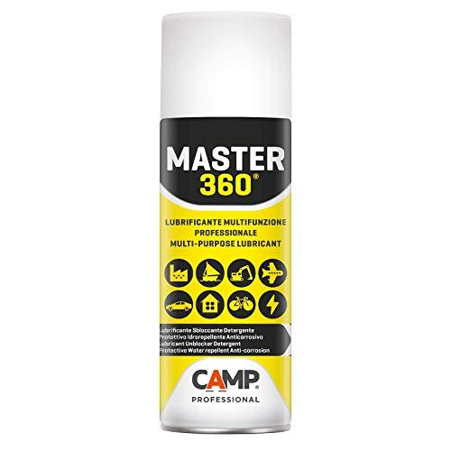 Camp MASTER 360, Lubrificante multifunzione, Sbloccante, Protettivo, Detergente, Idrorepellente, Anticorrosivo