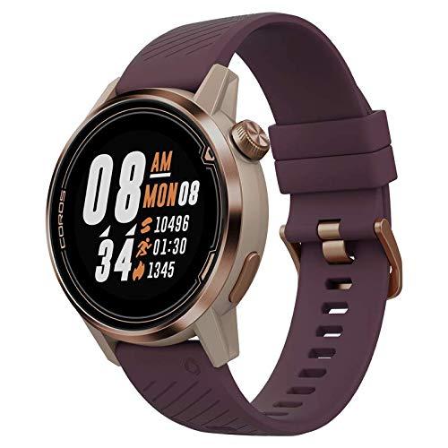 Coros APEX Premium Multisport GPS Watch | Ultra-Durable Battery Life | Titanium | Sapphire Glass | HR | Barometer, Altimeter, Compass | ANT+ & BLE Connections | Strava & Training Peaks (Gold, 42mm)