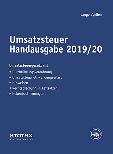 Umsatzsteuer Handausgabe 2019/20