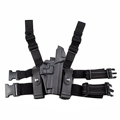 JINJULI Tactical P226/P229 Leg Gun Holster Right Hand Level 3 Lock Leg Holster
