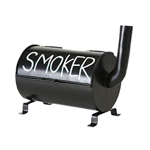 HausderHerzen Garten-Aschenbecher im Smoker-Design für Grillprofis