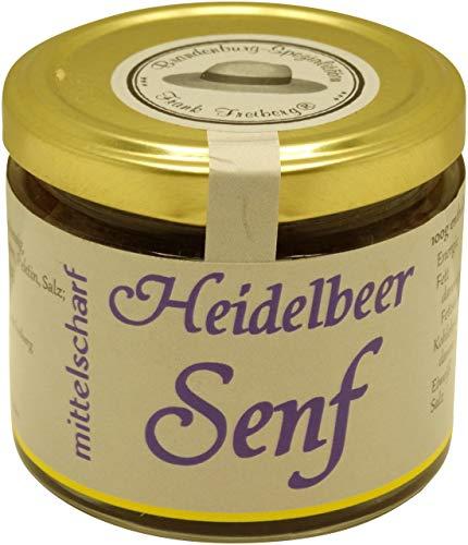 Brandenburg-Spezialitäten Frank Freiberg - Fercher Heidelbeer-Senf, mittelscharf - 120 ml