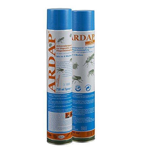 Quiko 2 x 750 ml Ardap Ungezieferspray Wirkstoff Neu 6 Wochen Langzeitwirkung