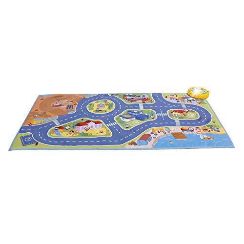 Chicco- Alfombra de Juegos de Coches, Multicolor (8058664104406)