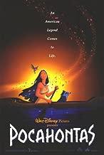 Pocahontas 27 X 40 Original Theatrical Movie Poster