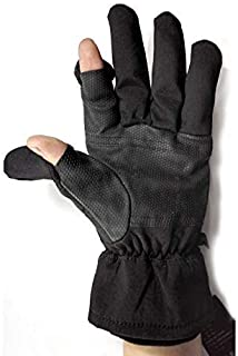 Work Gloves Sensory Gloves for Easy Access to Camera or Phone in Winter Weather, Great for Photography Fly Fishing Ice Fis...