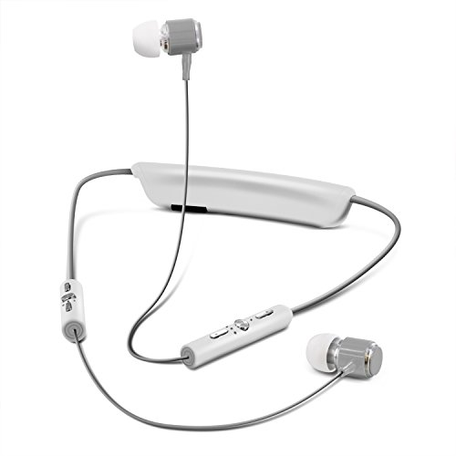 Around The Neck Sweatproof Sport Bluetooth Wireless Headphones, Aduro Amplify...