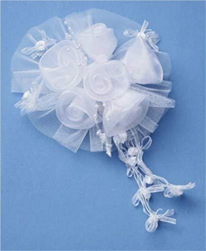 Jacobi Dekor TortendekoTortenaufsatz BlütenTüll Hochzeit