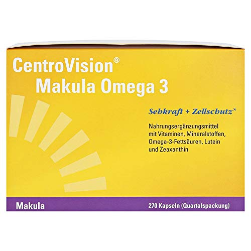 CentroVision Makula Omega-3 Kapseln, 270 St