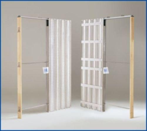 Controtelaio a SCOMPARSA per porta scorrevole interno muro - Misura 80x210