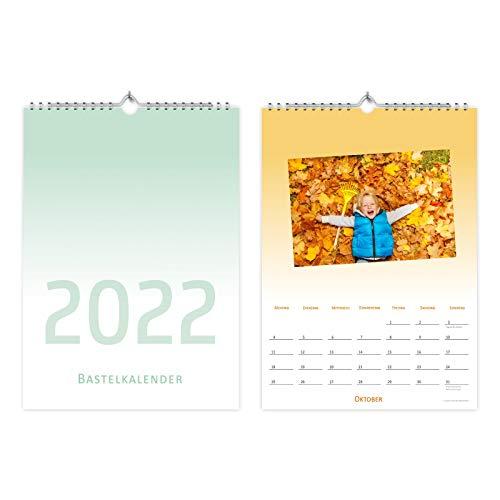 Calendario fotografico in formato A4 da personalizzare – Calendario creativo fai da te...