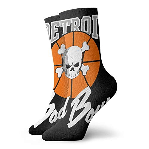 De-Troit Pis-Tons Bad Boys Fashion Printed Sports Fitness With Comfortable Medium Stockings