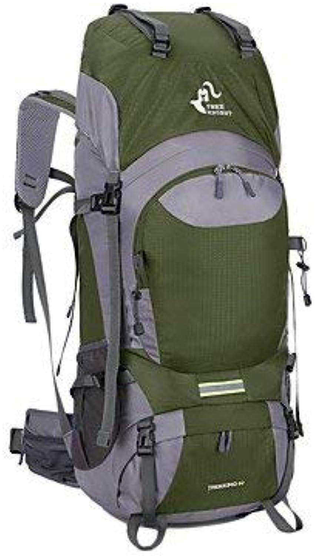 Pureed 56 75L L Rucksack Camping Camping Camping Wandern Leistung Training Wasserdicht Tragbar Andere Nylon (Farbe   Blau, Größe   One Größe) B07PY5WD9K  Guter weltweiter Ruf d23ff6