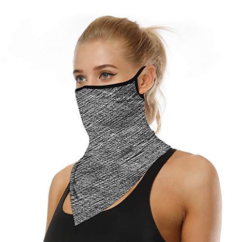 URIBAKY Halstuch Joggen Schal,Multifunktionstuch Gesichtsmaske Schlauchtuch Damen Schutzmasken,Herren Schlauchschal Outdoor UV Staubschutz Mund-Tuch Motorrad Fahrrad (aO-p)