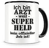✅ Tasse 300ml Arzt ✅ Keramiktasse für Kaffee oder Tee ✅ Bedruckte Tasse als Geschenkidee ✅ Modellnummer: 01V002850 Bedruckung im Sublimationsdruck erfolgt in Deutschland ✅ Kostenlose Lieferung innerhalb Deutschland.