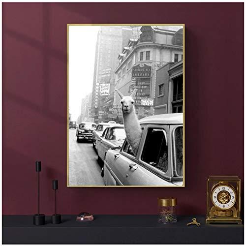 Murales 60x80cm 1Pieces SIN Marco Montaña de Hielo Cita de éxito Cartel Motivacional Arte de Pared nórdico Impresión en Lienzo Pintura Moderna Oficina en casa Decoración de la habitación
