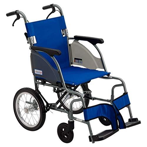 Amazing Deal ZHMEZH Lightweight for Adults Travel Lightweight Transport Chair, Compact Design Foldin...