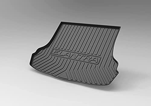 Coche Alfombrillas para maletero para Hyundai SONATA 2012-2016, Goma Alfombra Maletero Antideslizante Coche Interior Protectora Accesorios