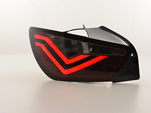 FK Automotive FKRLXLSE016005 LED achterlichten achterlichten, rood/zwart