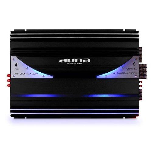 AUNA -CH06 Noir-Argent