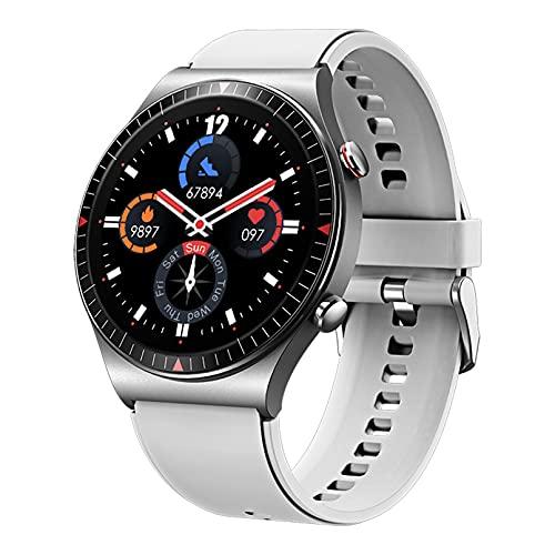 WEINANA Reloj Inteligente con Pantalla Táctil Completa para Hombres, Reloj Inteligente para Reproducir Música, Reloj Inteligente,Reloj Inteligente A Prueba De Agua con Llamada Bluetooth(Color:B)