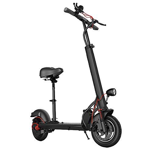 SSCYHT Patinete Eléctrico Scooter Plegable para Adultos Motor 500w Batería 36v 48v...