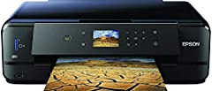 Epson Expression Premium XP-900 3-in-1 multifunctionele printer inkjet (scannen, kopiëren, WiFi, Duplex, enkele cartridges, 5 kleuren, A3, Geschikt voor amazon-dashaanvulling) Zwart*