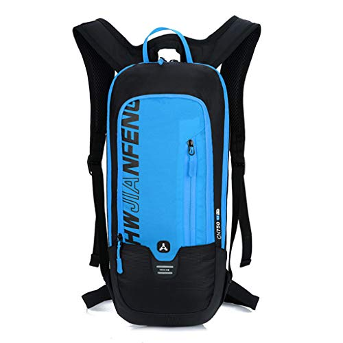 FREEDOL 20L Cycling Backpack, Bicycle Bike Rucksack Bag Pack with Water Bladder, Reflective at Night, Waterproof And Breathable, Suitable for Men And Women Riding,Blue