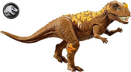 Jurassic World Rugidores Ceratosaurus, dinosaurio de juguete (Mattel GHT11)