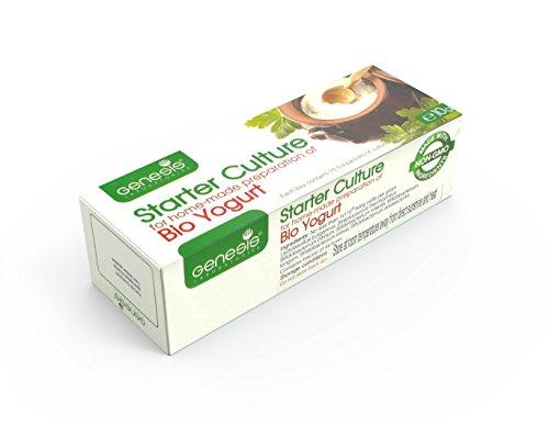 La cultura en la preparación casera de yogur Bio búlgaro GENESIS LABORATORIOS - 50 litros