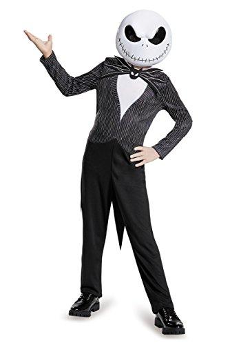 Disney Jack Skellington Nightmare Before Christmas Boys' Costume