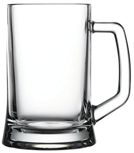 Hospitality Glass Brands 55229-012 Handled Mug, 22 oz. (Pack of 12)