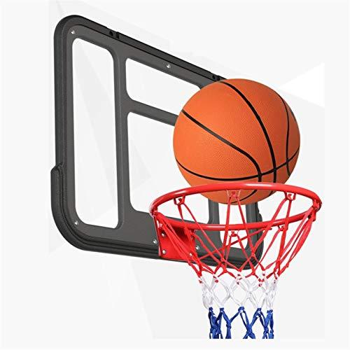 MHCYKJ Canasta Baloncesto Interior Puerta Tablero De Aro Montado En La Pared para Niños Colgar sobre Puertas Ocio con Balón Y Bomba