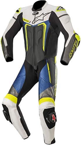 Alpinestars Motegi V3 - Mono de piel para motocicleta, 1 pieza, color...