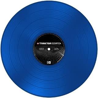 NI Traktor Scratch Pro Control Vinyl MK2 Blue