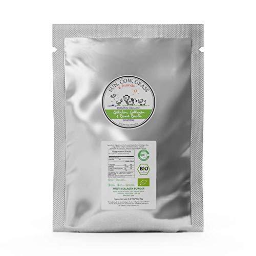 Multi Collagen Protein Powder Organic (1lb / 453g)