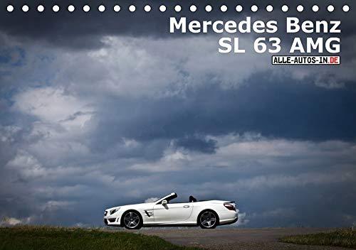 Mercedes-Benz SL 63 AMG (Tischkalender 2021 DIN A5 quer): 537 PS, Komfort satt - wer mindestens 160.000 Euro übrig hat, der kann in dem sportlichen ... Sonne genießen. (Monatskalender, 14 Seiten )