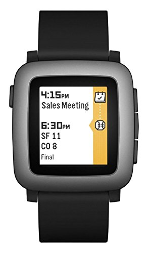 Pebble Time Smartwatch, Nero