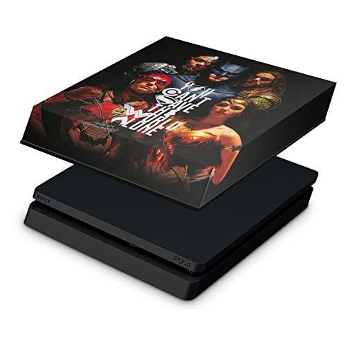 Capa Anti Poeira para PS4 Slim - Liga Da Justiça