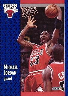 1991-92 Fleer #29 Michael Jordan Basketball Card