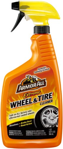 Armor All Car Tire & Wheel Spray Bottle, Cleaner for Cars, Truck, Motorcycle, Extreme, 32 Fl Oz, 78011