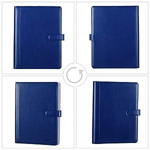 41uv6 xs97L. SS300  - Leathario Portafolio de Conferencias Carpeta Piel Portadocumentos A4 Organizadora Oficina Personal Comercial de Negocio…