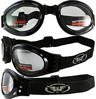Global Vision Eyewear Men's Adventure Goggles with Pouch