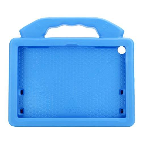 Dpofirs Nueva Funda Protectora para Tableta, Funda Protectora anticaída para Tableta EVA para niños a Prueba de Golpes, Compatible con tabletas HD 8 / 8P (con Soporte en la Parte Posterior)(Azul)